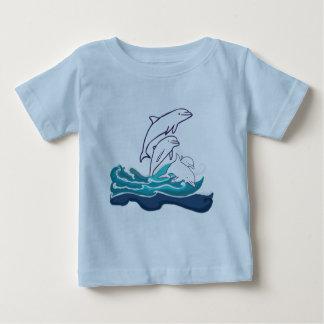 Witte T-shirt van Jersey van het Baby van