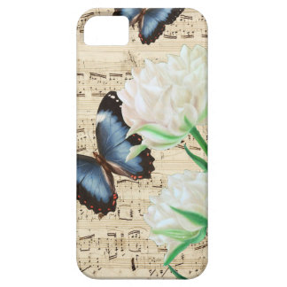 Witte Tulpen Morpho Barely There iPhone 5 Hoesje
