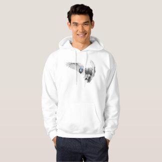 Witte Uil Hoodie