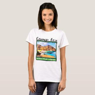 Witte Wolken van de Hemel van de Vos van het kamp T Shirt