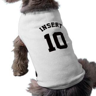 Witte & Zwarte Huisdieren | Ontwerp van Jersey van T-shirt