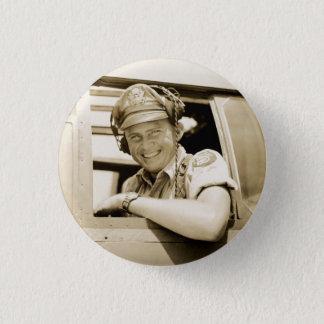 WO.II B-25 Mitchell Proef Ronde Button 3,2 Cm