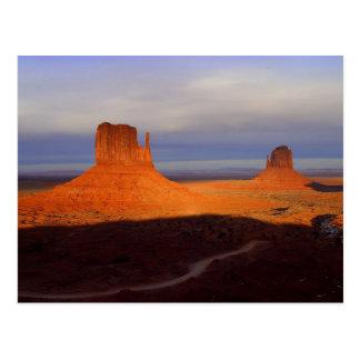 Woestijn Briefkaart
