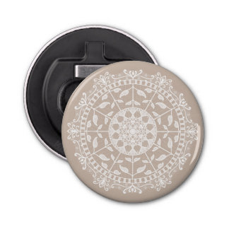 Wol Mandala Button Flesopener