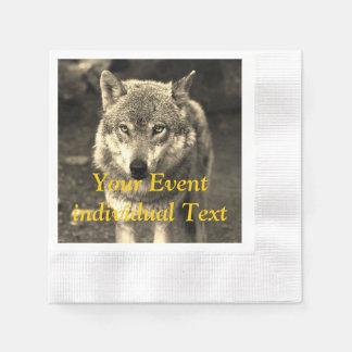 Wolf 215 papieren servetten