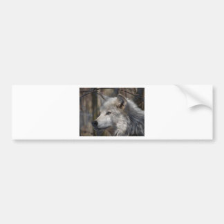 Wolf Bumpersticker