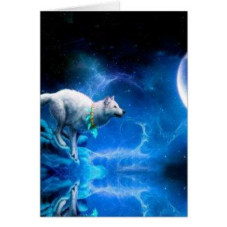 Wolf en Maan Notitiekaart