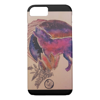 Wolf iPhone 8/7 Hoesje