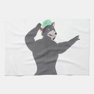 WOLF KAAP KITCHEN LINEN/WASGOED KOOKT WOLF THEEDOEK