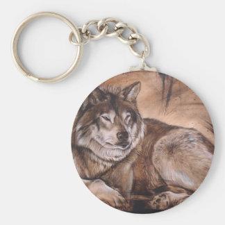 Wolf Sleutelhanger