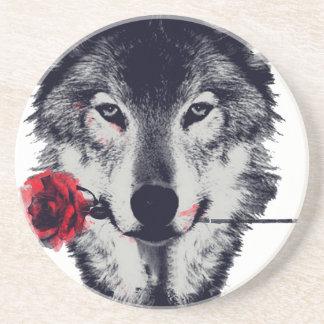 Wolf Zandsteen Onderzetter