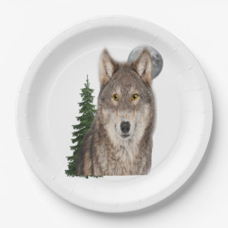 wolfs art. papieren bordje