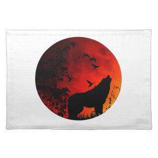 wolfs gehuil placemat