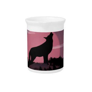 wolfs volle maan drink pitcher
