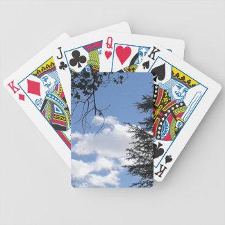 Wolk en Bomen Bicycle Speelkaarten