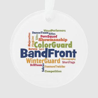 Wolk van Word van de band de Voor Ornament