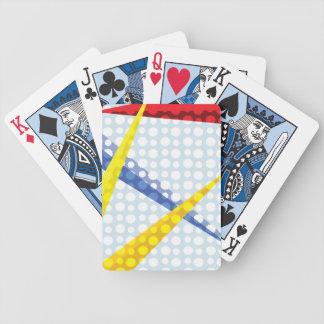 Wolken en Vliegtuigen Poker Kaarten