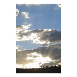 Wolken en Zon Briefpapier