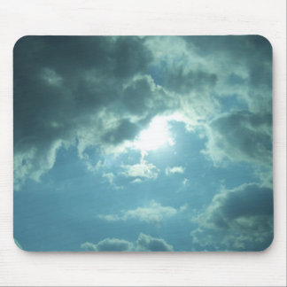 Wolken - het stootkussen van de Muis Muismat