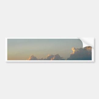 wolken in Roemenië Bumpersticker