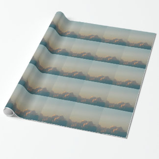 wolken in Roemenië Cadeaupapier