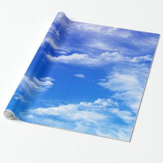Wolken Inpakpapier