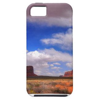 Wolken over de woestijn tough iPhone 5 hoesje