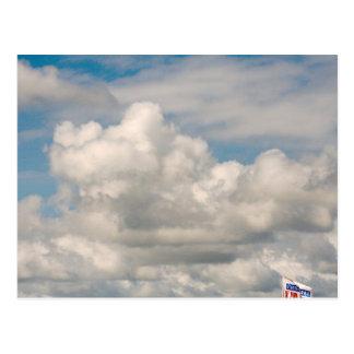 Wolken over Meer Erie Briefkaart