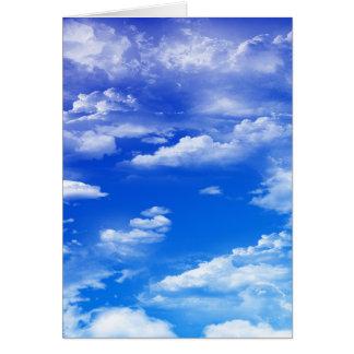 Wolken (portret) briefkaarten 0