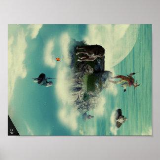 Wolken Poster