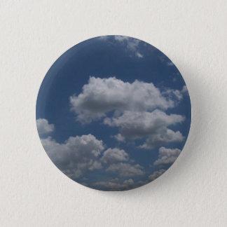 Wolken Ronde Button 5,7 Cm