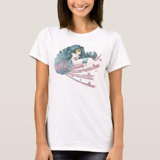 Wonder de Dolfijn en de Strepen van de Vrouw T Shirt