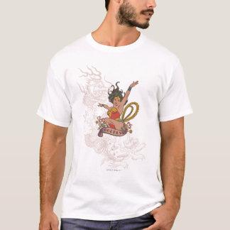 Wonder de Godin van de Vrouw T Shirt