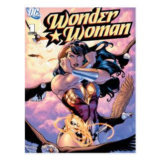 Wonder de Grappige Dekking van de Vrouw #1 Briefkaart
