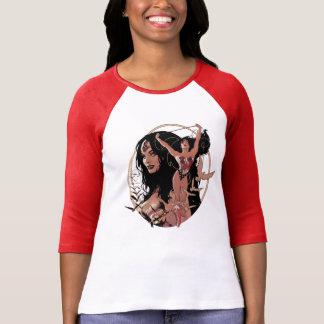 Wonder de Grappige Grafische Dekking van de Vrouw T Shirt