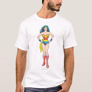 Wonder de Handen van de Vrouw op Heupen T Shirt