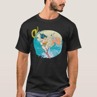 Wonder de OceaanHemel van de Vrouw T Shirt