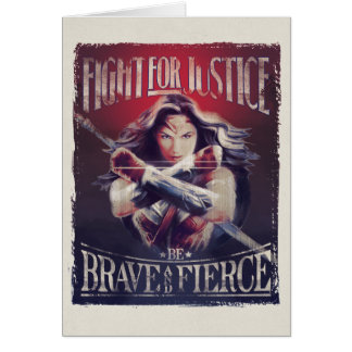 Wonder de Strijd van de Vrouw voor Briefkaarten 0