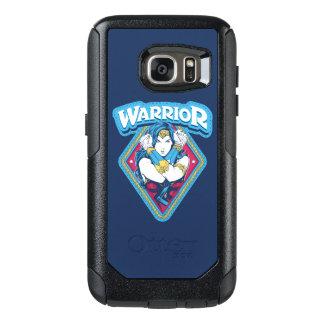 Wonder Grafische de Strijder van de Vrouw OtterBox Samsung Galaxy S7 Hoesje
