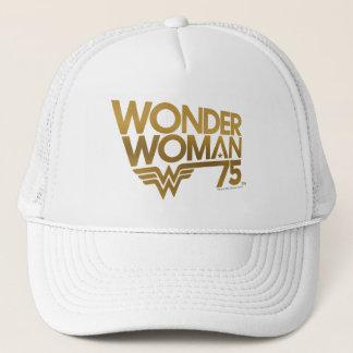 Wonder het Gouden Logo van het Jubileum van de Trucker Pet
