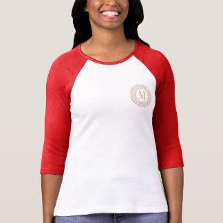 Wonder het Griekse Patroon van de Vrouw T Shirt