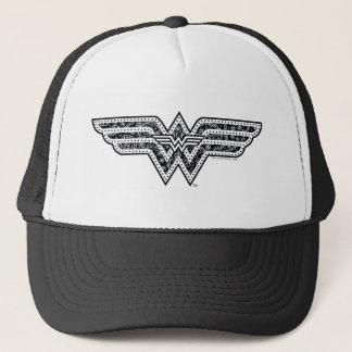 Wonder het Logo van Paisley van de Vrouw Trucker Pet