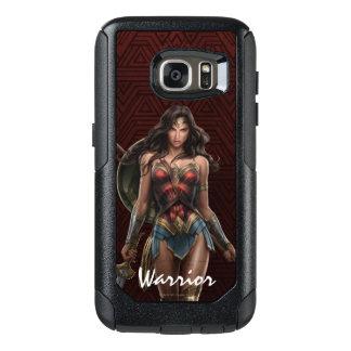 Wonder het slag-Klaar Grappige Art. van de Vrouw OtterBox Samsung Galaxy S7 Hoesje