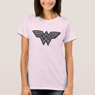 Wonder het StammenPatroon van de Vrouw T Shirt