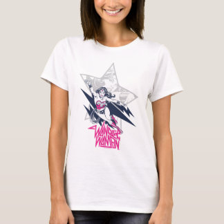 Wonder het Vliegende Grafische Karakter van de T Shirt
