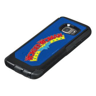 Wonder Logo van het Boek van de Vrouw 1987 het OtterBox Samsung Galaxy S7 Hoesje