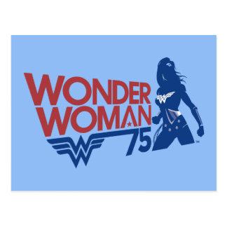 Wonder Logo van het Jubileum van de Vrouw Briefkaart