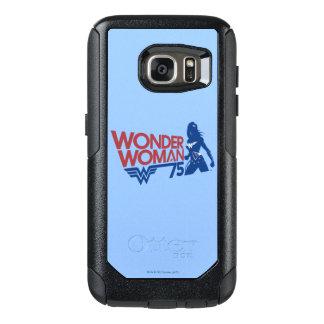 Wonder Logo van het Jubileum van de Vrouw OtterBox Samsung Galaxy S7 Hoesje
