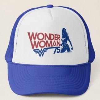 Wonder Logo van het Jubileum van de Vrouw Trucker Pet