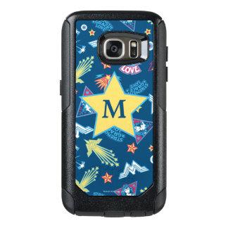 Wonder Patroon | van de Pictogrammen & van de OtterBox Samsung Galaxy S7 Hoesje